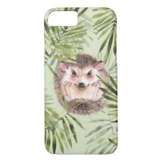 Capa iPhone 8/ 7 Folhas do ouriço e do verde