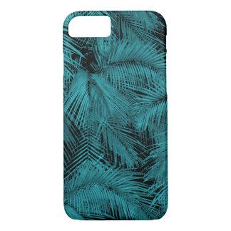 Capa iPhone 8/ 7 Folhas tropicais da cerceta havaiana das palmas de