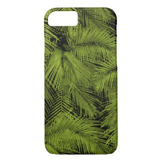 Capa iPhone 8/ 7 Folhas tropicais verdes havaianas das palmas de