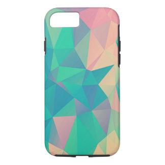 Capa iPhone 8/ 7 Formulários geométricos abstratos coloridos das
