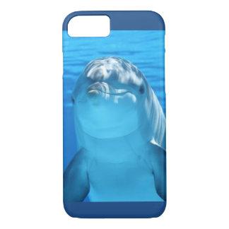 Capa iPhone 8/ 7 Foto amigável do golfinho