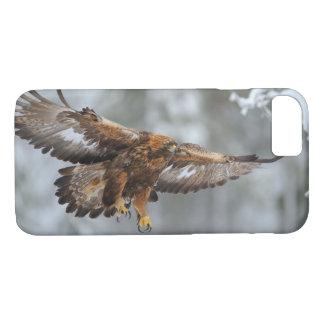 Capa iPhone 8/ 7 Foto de Eagle dourado