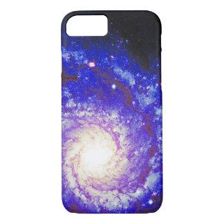 Capa iPhone 8/ 7 Foto do espaço da galáxia espiral