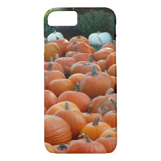 Capa iPhone 8/ 7 Fotografia da colheita do outono das abóboras e