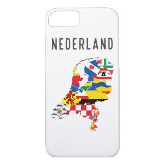 Capa iPhone 8/ 7 Fotorreceptor holandês das regiões do país do