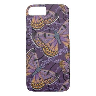 Capa iPhone 8/ 7 Fractal de cobre da borboleta de Boulder
