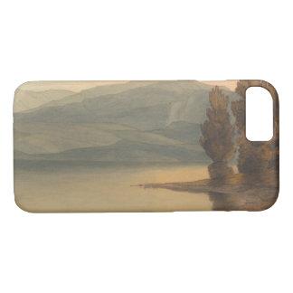 Capa iPhone 8/ 7 Francis Towne - Windermere no por do sol