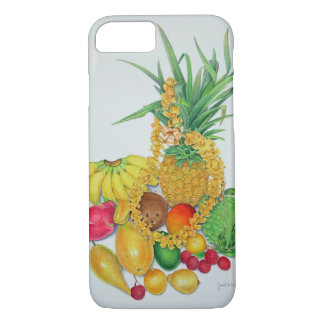 Capa iPhone 8/ 7 Fruta tropical e leus