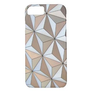 Capa iPhone 8/ 7 Fundo geométrico de Pentakis Dodecahedron