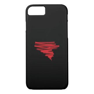 Capa iPhone 8/ 7 Furacão vermelho