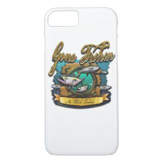 Capa iPhone 8/ 7 Furo ido do porto de Fishin