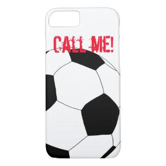 Capa iPhone 8/ 7 Futebol feliz pelos Feliz Juul Empresa
