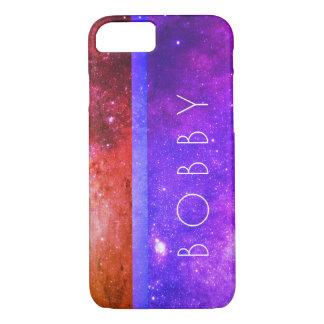 Capa iPhone 8/ 7 Galáxia colorida/tripla da galáxia
