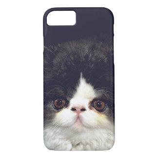 Capa iPhone 8/ 7 Gatinho preto e branco