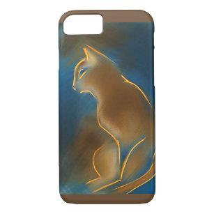 Capa iPhone 8/ 7 Gato Abyssinian
