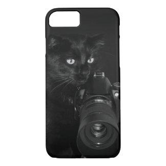 Capa iPhone 8/ 7 Gato com a câmera