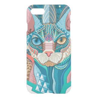 Capa iPhone 8/7 Gato cósmico de Sphynx