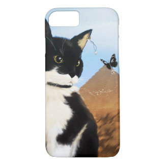 Capa iPhone 8/ 7 Gato egípcio