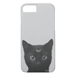 Capa iPhone 8/ 7 Gato preto
