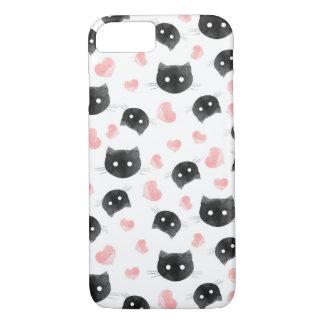 Capa iPhone 8/ 7 Gatos do amor
