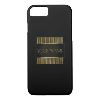 Capa iPhone 8/ 7 Geometria conhecida mínima conceptual do ouro