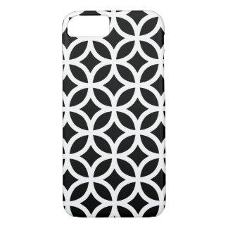 Capa iPhone 8/ 7 Geométrico preto e branco