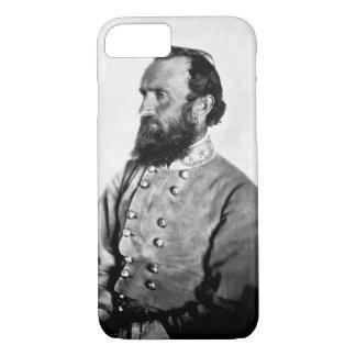 """Capa iPhone 8/ 7 Gerador """"Stonewall"""" Jackson, imagem _War"""
