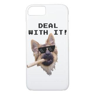 Capa iPhone 8/ 7 German Shepherd - Funny Case iPhone