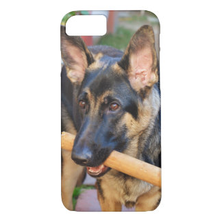 Capa iPhone 8/ 7 German shepherd por Shirley Taylor