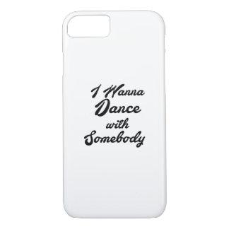 Capa iPhone 8/ 7 GIF que da dança eu quero dançar com alguém