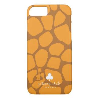 Capa iPhone 8/ 7 Girafa (Alaranjado-Tan)