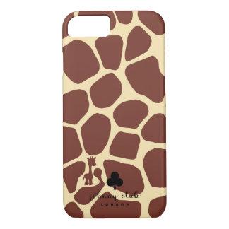 Capa iPhone 8/ 7 Girafa (Borgonha)
