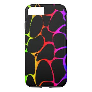 Capa iPhone 8/ 7 Girafa do arco-íris