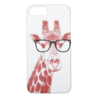 Capa iPhone 8/ 7 Girafa Nerdy