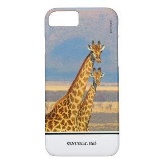 Capa iPhone 8/ 7 Girafas