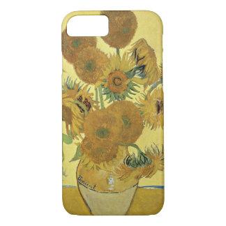 Capa iPhone 8/ 7 Girassóis de Vincent van Gogh |, 1888