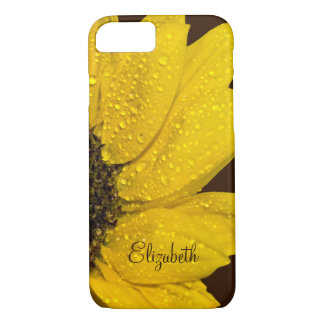 Capa iPhone 8/ 7 Girassol personalizado floral