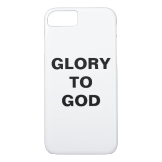 "Capa iPhone 8/ 7 ""Glória iPhone de Apple ao deus"" 8/7 de caso"