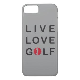 Capa iPhone 8/ 7 Golfe vivo do amor eu telefono ao caso 6