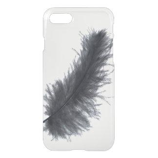 Capa iPhone 8/7 Gótico tribal do hipster da pena preta bonito