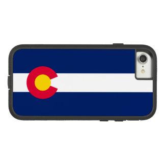 Capa iPhone 8/ 7 Gráfico dinâmico da bandeira do estado de Colorado