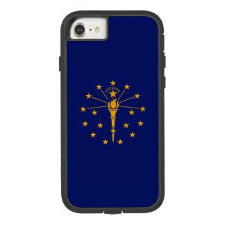 Capa iPhone 8/ 7 Gráfico dinâmico da bandeira do estado de Indiana