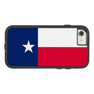 Capa iPhone 8/ 7 Gráfico dinâmico da bandeira do estado de Texas em