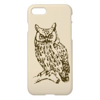 Capa iPhone 8/7 Grande coruja Horned