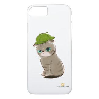 Capa iPhone 8/ 7 Grande iPhone britânico 7 de Apple dos gatinhos,