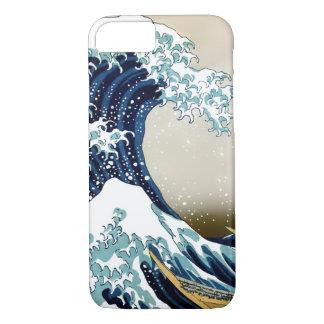 Capa iPhone 8/ 7 Grande onda de alta qualidade fora de Kanagawa por