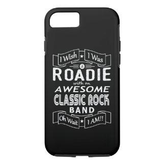 Capa iPhone 8/ 7 Grupo de rock clássico impressionante de ROADIE