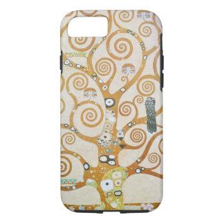 Capa iPhone 8/ 7 Gustavo Klimt a árvore da arte Nouveau da vida