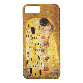 "Capa iPhone 8/ 7 Gustavo Klimt ""o beijo """