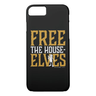 Capa iPhone 8/ 7 Harry Potter | livre os duendes da casa